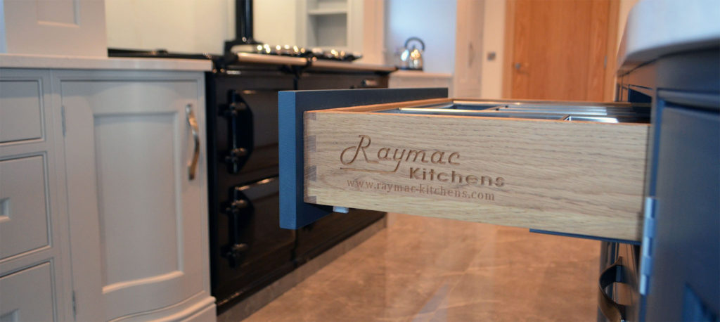 Luxury Kitchens designed and fitted by Raymac, based in Dungannon, Co Tyrone, Northern Ireland